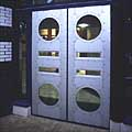 aluminium-clad timber doors